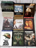 Band of Brothers DVD Set War Lot of 9 - Saving Private Ryan Schindler's and more