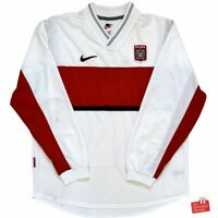 Authentic Vintage Nike Poland 1998/99 Long Sleeve Player Issue Home Jersey