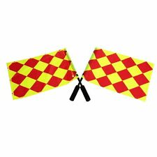Potrable Sport Soccer Referee Flag Sports Match Linesman Competition Equipment