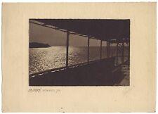 Kaliakra On the Black Sea PhotoVictor de Bont Paris London Vintage 1918