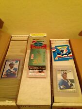 1982 1989 1990 Fleer Donruss Bowman Kmart Post Baseball 6 Set Complete Lot