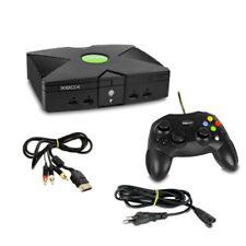 Xbox Konsole Schwarz mit ähnlichen Controller mit Kabel