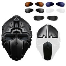 Helmet Airsoft Paintball CF Game Full Face Mask Tactical Protective L1