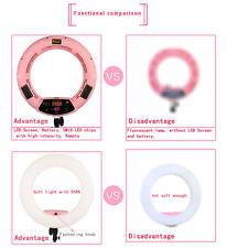 Yidoblo FD480II Ajustable LED Ring Light Bi-color photography+Bag+ Stand+battery