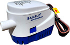 Sailflo Automatic Submersible Boat Bilge Water Pump 12V 750Gph Auto With Float S photo