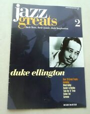 DUKE ELLINGTON JAZZ GREATS THEIR LIVES THEIR MUSIC THEIR INSPIRATION MOOD INDIGO