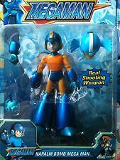 Megaman Figure Napalm Bomb Mega Man Set Pack New X Command Mission Weapon Shoots