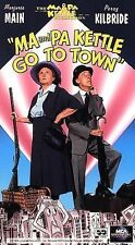 Ma and Pa Kettle Go to Town (VHS, 1994)