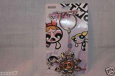 New Cartoon Network Powerpuff Girls Keychain Key Ring Sunflower