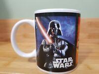Star Wars Galerie Ceramic 2012 Coffee Mug Darth Vader Stormtrooper Boba Fett