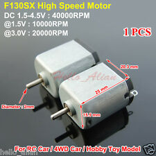 Mini 130 DC Motor 1.5V 3V 4.5V 40000RPM High Speed Motor RC Car Hobby Toy Model