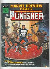 Marvel Preview #2 - 1st Origin of The Punisher FN 1975 Marvel Comics