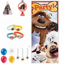 The Secret Life Of Pets Birthday Party Supplies & Decorations