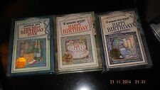 a choice of 3 BIRTHDAY GIFT BOOKS, to give and to keep, 60's, 40's, young adults
