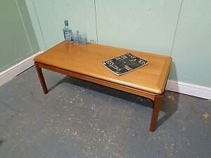 RETRO TEAK NATHAN SOFA TABLE VINTAGE SIDE TABLE MID CENTURY END TABLE COFFEE TAB