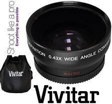 Hi Def Wide Angle Lens With Macro For Panasonic HC-X1000 HC-W850 HC-V750