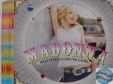 MADONNA WHAT IT FEELS LIKE FOR A GIRL PROMO CD
