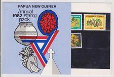(TIA22) 1982 PNG 15mix 10t to50t mint &F/U