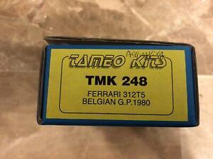 tameo kit 1/43 312 T5 Neuf Sous Blister