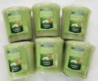 Yankee Candle Votives: SUMMER WISH Wax Melts Lot of 6 Green New Fresh