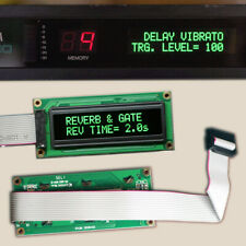 Yamaha GREEN OLED Replacement Display Module fits TX81Z SPX90 SPX90mkII SPX1000