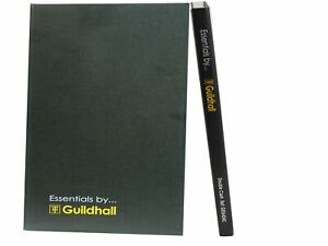 Guildhall A4 Double Entry Cash Book Case Side Bound 192 Pages 297 x 210 mm