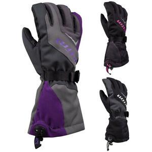 Klim Ember Gauntlet Womens Cold Weather Snow Gear Snowmobile Glove