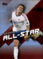 2016 Topps MLS Soccer Insert/Parallel Singles (Pick Your Cards)