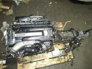 Jdm Nissan Skyline GTR RB26DETT Engine MT Awd Transmission BNR32 RB26 Motor R32