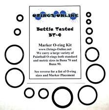 Battle Tested BT-4 Paintball Marker O-ring Oring Kit x 2 rebuilds / kits