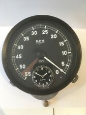 Jaguar Smiths Tachometer Rev Counter with Inset Clock. Working With Guarantee