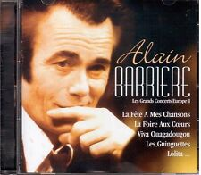 Alain Barriere: Les Grands Concerts Europe 1 CD