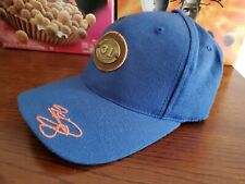 New York Mets Mike Piazza BLUE Baseball Hat Cap Metal Badge 31 RARE! MLB