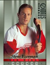 Steve Yzerman 1997-98 Donruss Studio '97 Portrait Detroit Red Wings #10 NM 8x10