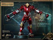 HOT TOYS IRON MAN 3 MARK XXXV 35 RED SNAPPER 1:6 FIGURE ~Brand New~