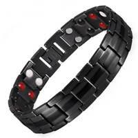 Titanium Magnetic Jewelry Bracelet Balance Energy Stress Pain Relief