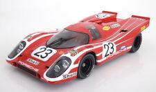 Minichamps Porsche 917k Ganador 24h Le Mans 1970 Herrmann/Attwood #23 1/12 New
