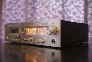Saba CD-260 Vintage 2 Motor Logik Kassettendeck - SERVICED - 1 Jahr Gewährleist.