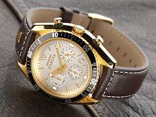 DETOMATSO GENOVA cronografo placcato oro SL1592C uomo (3)