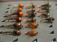 !OFERTA! 16 ninfas, sin muerte del #12 al #16 Pesca a mosca. FLY FISHING (19)