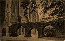 Bad Doberan 1922 Kloster Ruine Kreuzgang Kirche Stempel v/ Heiligendamm gelaufen
