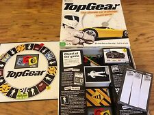 BBC TOP GEAR TV Show The Ultimate Car Challenge BOARD GAME The Stig Complete