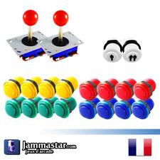 Kit Joystick Arcade - Bartop - 2 Joueurs - 2 Players