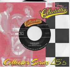 THE BEACH BOYS  Surfer Girl / Surfin' Safari 45 on COLLECTABLES label