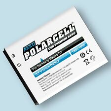 PolarCell Akku für Samsung Galaxy S2 i9100 S II Plus GT-i9105 EB-F1A2GBU Accu