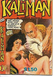 Kaliman El Hombre Increible #512 - Septiembre 19, 1975 - Mexico