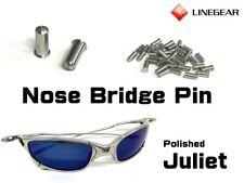 LINEGEAR Nose Bridge Pin, Rivet - Polished for Oakley Juliet 2pcs [NBPIN-POL-2]