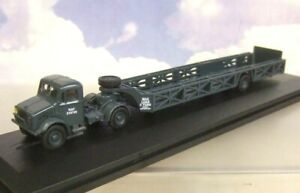 OXFORD 1/76 BEDFORD OX & QUEEN MARY TRAILER RAF RECOVERY & TRANSPORT 76BD024