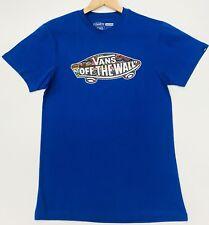 """Vans Blue Fly """"OTW"""" T Shirt Size L"""