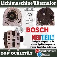 AUDI A4 A6 Q7 Original BOSCH Lichtmaschine Alternator 180A NEW NEU !!!
